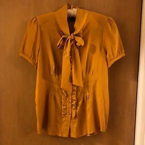 BGBC mustard blouse